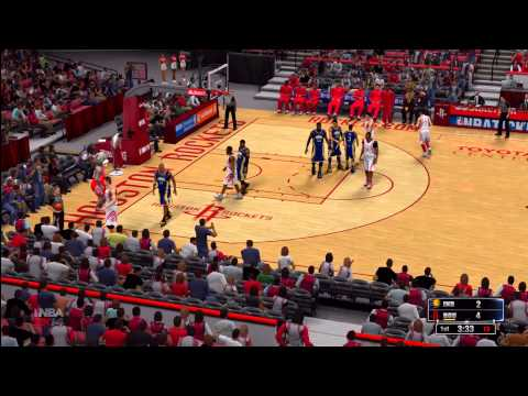 NBA 2K14: Houston Rockets vs. Indiana Pacers HD Game play ft. Dwight Howard and Paul George