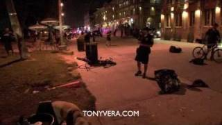LAPD CALLS FOR BACK UP AT Venice Beach Drum Circle
