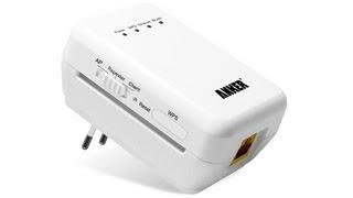 """Anker Wireless-N WiFi Repeater WLAN Verstärker"" Mit"
