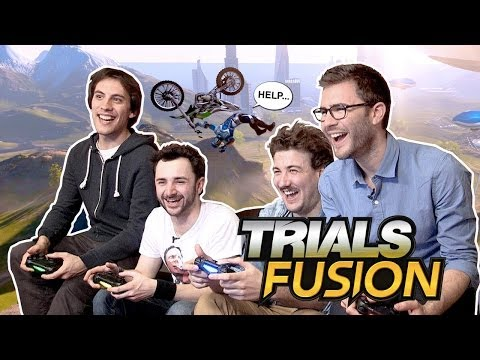 Trials Fusion : Des barres à 4 !