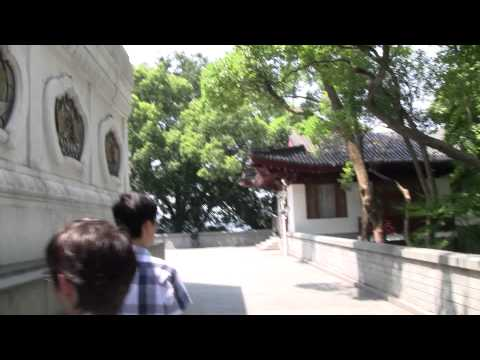 (HD) Walking in Hangzhou (Leifeng Pagoda)