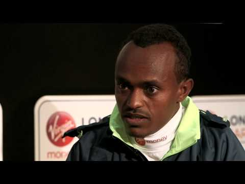 Tsegaye Kebede dreams of winning the London Marathon again