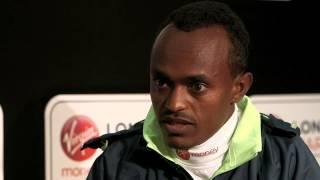 [FUNNY ]Tsegaye Kebede dreams of winning the London Marathon again
