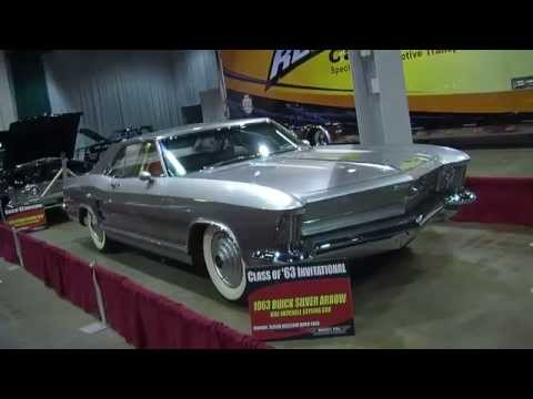 2013 Muscle Car And Corvette Nationals: 1963 Buick Riviera Silver Arro