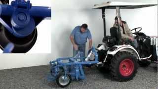 PTO Powered Potato Digger How To Harvest Potatoes