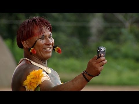Tribesmen Selfie: Michael Palin visits the Wauja Indigenous People - Brazil with Michael Palin - BBC