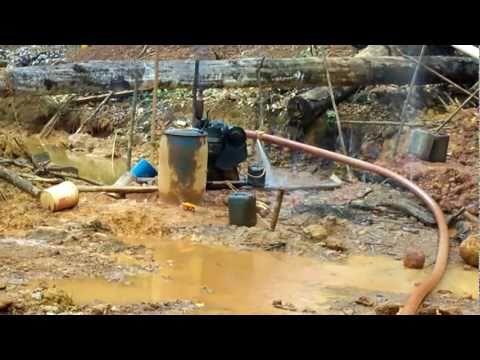 guyana south america gold mining operation dream