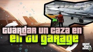 GTA V Online Como Guardar Un Caza En Tu Garaje De GTA 5
