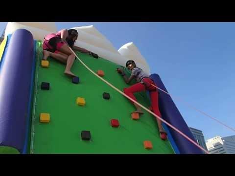 Jodilly versus Katarina of Asia's Next Top Model Season 2: Wall climbing