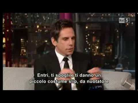 Ben Stiller @ David Letterman Show 18/12/13 SUB ITA