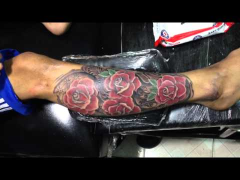Hinh xam dep tattoo Hoa Hồng 3D Tin TATTOO Cần Thơ dt 0909667090 dia chi 274 duong 30/4