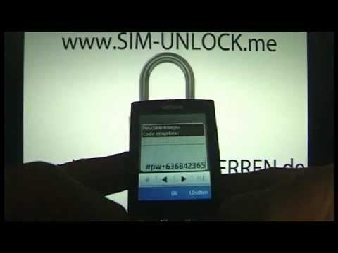 UNLOCKING NOKIA X3-02 BY CODE  How to unlock nokia unlock by Code