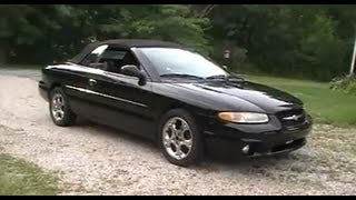 Tour of my 1998 Sebring Limited Convertible videos