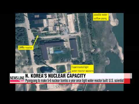 North Korea's nuclear weapons stockpile could increase sharply within years U S  scientist