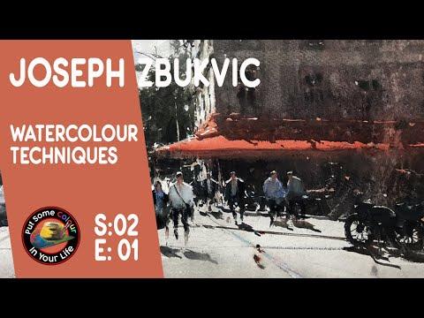 Mind Blowing Watercolour Art Lessons with Joseph Zbukvic
