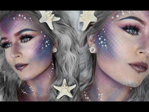 Mermaid 🐚 Makeup Tutorial