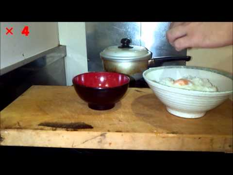 Cooking rice without a rice cooker, and onigiri (rice balls)