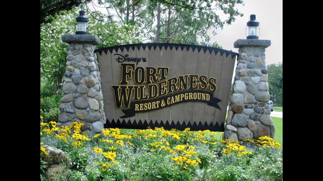 camping fort wilderness disney orlando florida