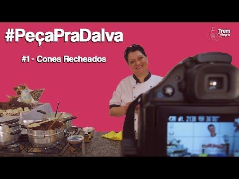 #PeçapraDalva #1 - Talita Bustamante - Cones Recheados