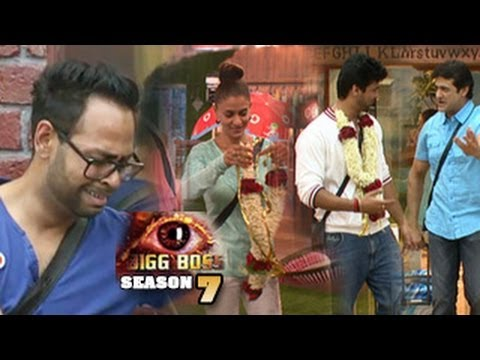 Bigg Boss 7 27th September 2013 Full Episode - New Entry Asif Azim v/s Tanisha Captain