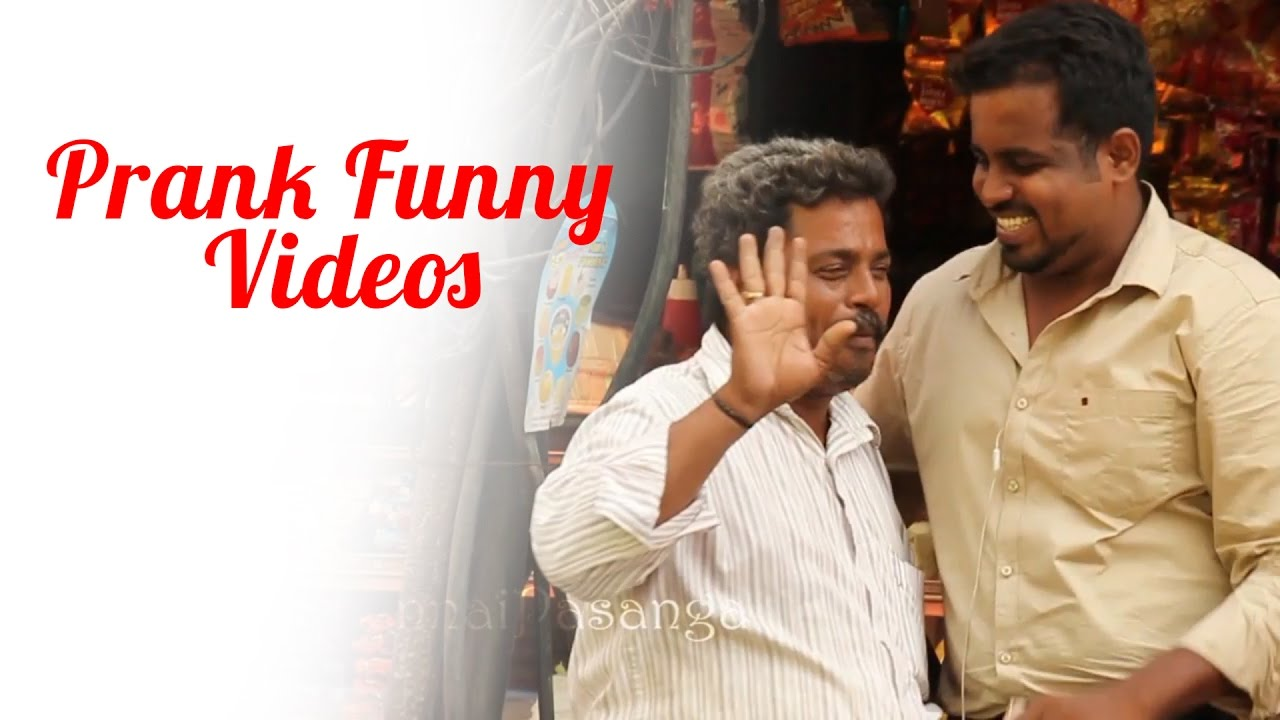 Prank Funny Videos | Kidnap Prank |  Chennai Pasanga