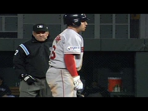 2007 WS Gm3: Jacoby Ellsbury collects four hits