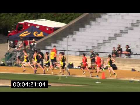 Cal Tri Meet 2015, Men's 3,000 Meter