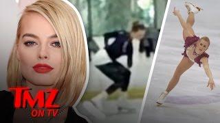 We Got Video Of Margot Robbie On The Ice Practicing For Tonya Harding Flick | TMZ TV