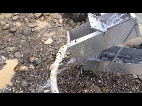 GoldHog Excavator / Mini highbanker running electric...