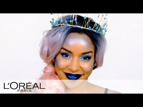 Mermaid Look - Halloween Makeup Tutorials from L'Oreal