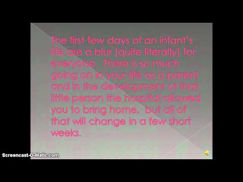 Infant Developmental Milestones