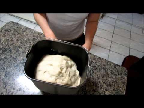 Vamos fazer esfiha na Maquina de Pão?