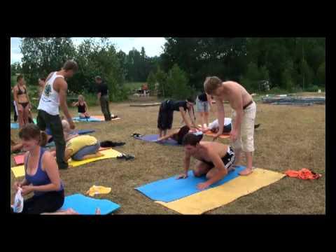 """Парная йога. 3-е занятие, ч.1 (""""Энергия Жизни 2011"""")"""