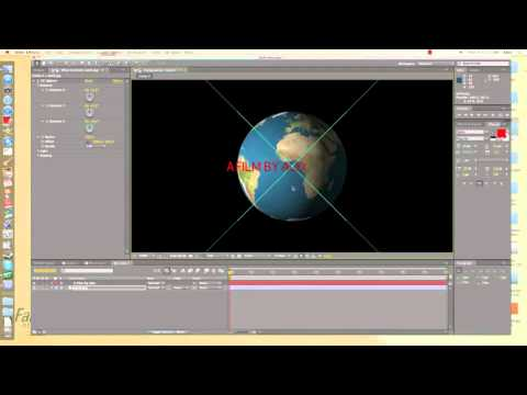 Earth Text Tutorial
