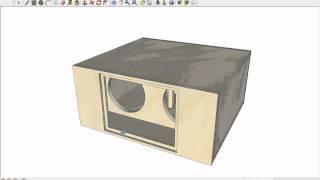 RAM Designs: DC Audio Level 5 Bandpass Tuned LOW - YouTube