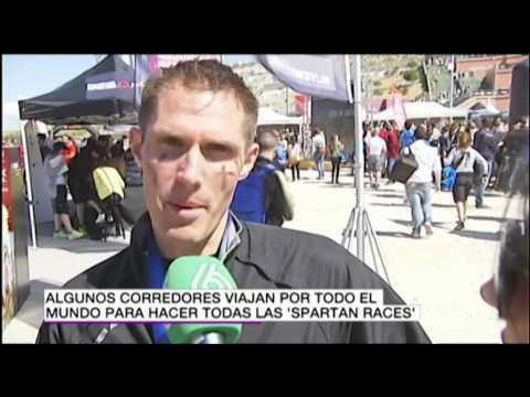 CARRERA ESPARTANA MADRID 2014- La Sexta Noticias (Spartan Race)