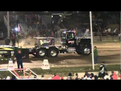 NTPA/ Full Pull Productions, Big Rigs/Super Semis, Canfield Fair, 9/4/10 - YouTube