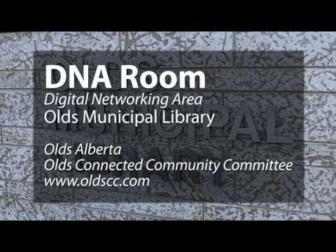 DNA room in Olds Library - check out the tech
