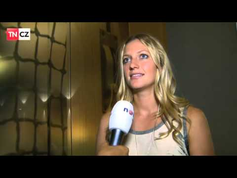 Petra Kvitova - interview TV NOVA with EN subtitles