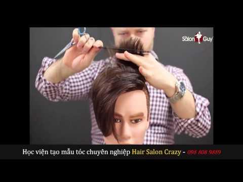Dạy cắt tóc - Kiểu tóc đẹp David Beckham - Daycattoc com vn