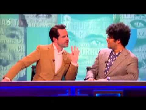 "Richard Ayoade and Jimmy Carr's ""Moment"""