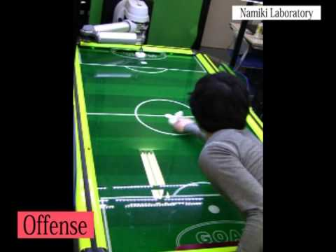 Science & Technology: Namiki Lab's air-hockey robot