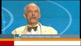 Janusz Korwin Mikke o Traktacie Lizbońskim
