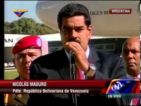 08 MAY 2013 Llegada del Pdte Nicols Maduro a Buenos Aires, Argentina, para 1era Visita Oficial