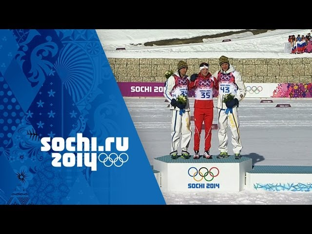 Cross-Country Skiing - Men's 15km Classic - Dario Cologna Wins Gold | Sochi 2014 Winter Olympics