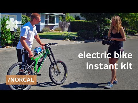 Instant e-bike: electric bike conversion kits