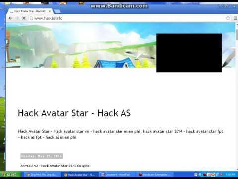 Hướng dẫn háck Avatar Star 2016