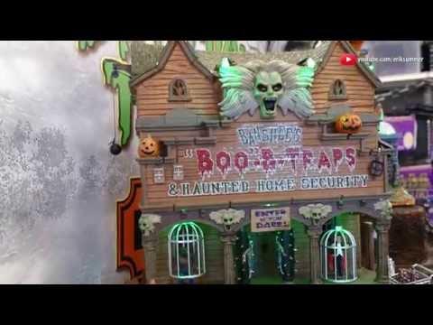 Banshee's Boo-B-Trap Spookytown Halloween Decor