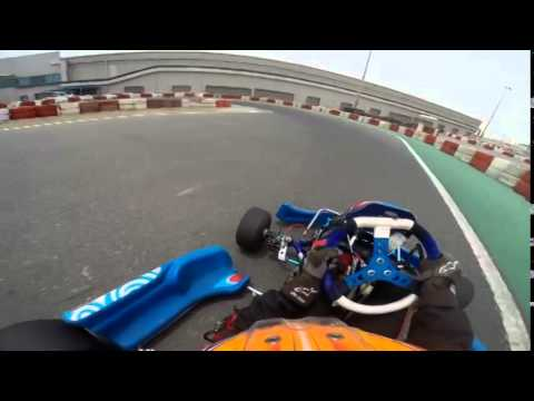 having some fun with my new energy kart (DUBAI KARTDROME)(2)