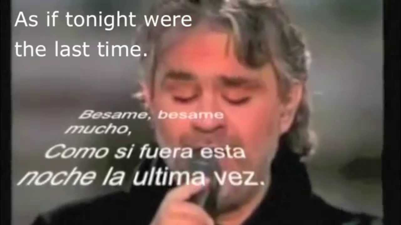 Per Amore (Translation) - Andrea Bocelli | Mega Lyrics NET
